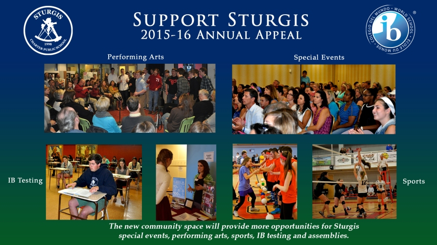 Support Sturgis 2015-16 Annual Appeal