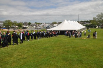 Sturgis Graduation Tent at Hyannis Harbor