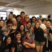 Sturgis IB Theater Students in NY