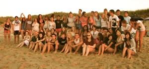 Group Photo at Sandy Neck