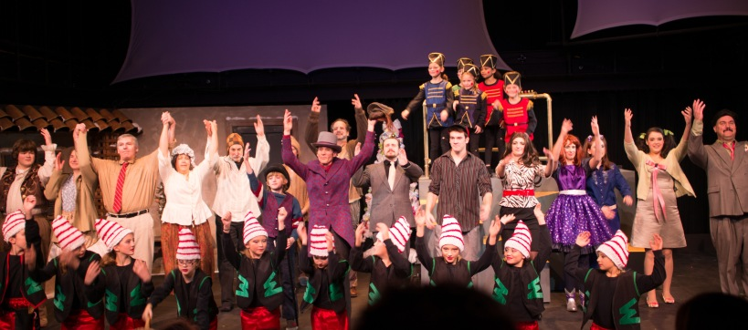 Willy Wonka Cast Takes a Bow