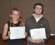 2013 Navigator Award Recipients Beth Wahle and Charlie Grossman