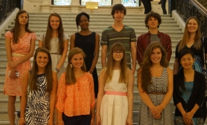 ArtWorks Students at State House