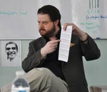 Composer Brett Arana Visits West