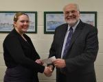 Emily Morin Receives Rotary Scholarship