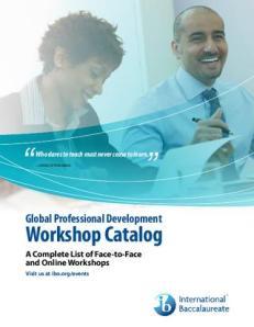 IB Workshops