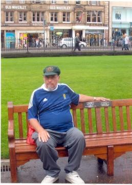 Jim Stewart  Stewart Memorial Bench Edinburgh, Scotland