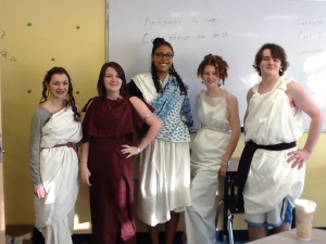 Latin 2 Mid Term Costumes