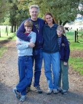 Bob Wojtowicz, Jolanda Ferguson and Family