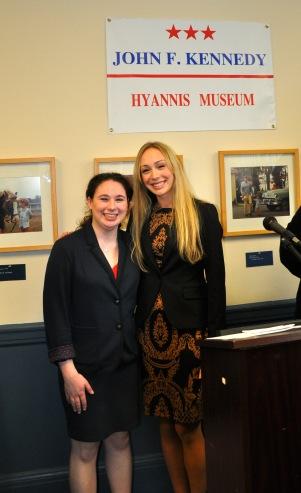 Julia Tager and Hannah Taylor
