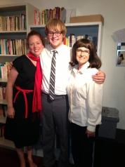 Anna Botsford, Jackson Fryer and Marsha Yalden