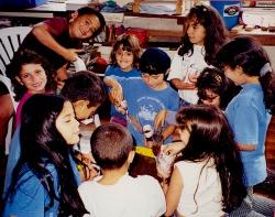 Classroom in Costa Rica 1998 - 2000