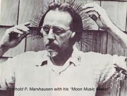 Moon music maker, Pete R.