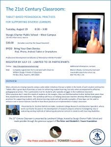 21st Century Classroom Flyer