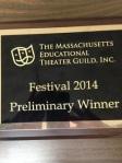 Theater Guild plaque
