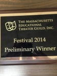 Theater Guild plaque