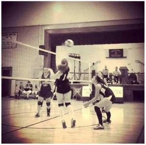 volleyball bw