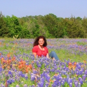 Theresa Pacheco in Texas hill country