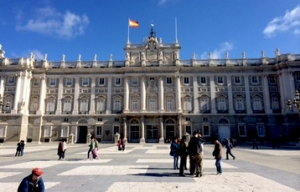 The famous Palacio Real in Madrid (Photo by Lauren Berkley)