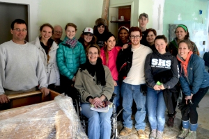 Habitat Team- with Habitat home-owner