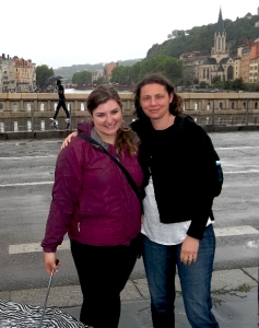 Haley Meaden and Madame Blanc in Lyon