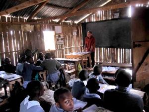 Kooharian - seventh grade class