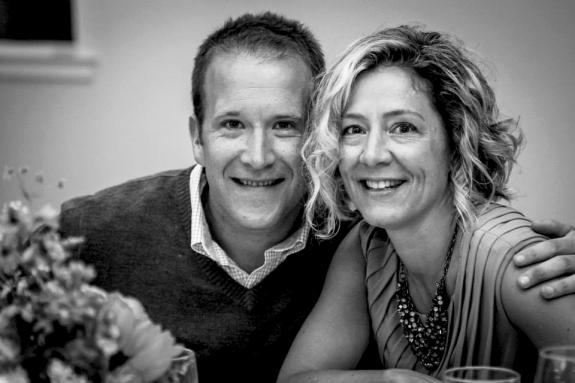 Paul and Lauren Marble, 2013