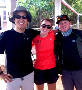 Matt Lee, Emily Williams and Jake Tomkinson World Challenge Leaders