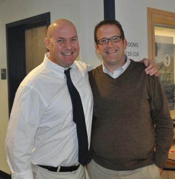 Peter Steedman and Paul Marble, 2012