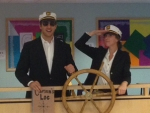 Twin Day - Captain Sturgis on Deck