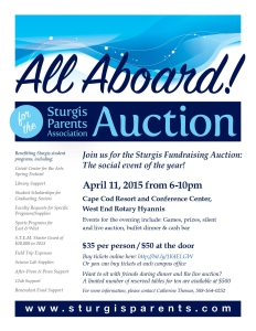 2015 SPAuction flyer