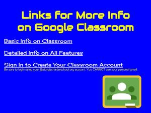 Google Classroom Presentation