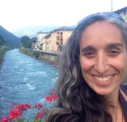 Lisa Sears in Tirano, Italy - July 2015