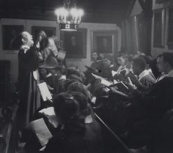 Assistant Conductor of Rutgers Chapel Choir