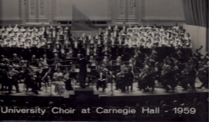 RU Choir_Carnegie Hall '59