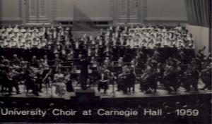 RU Choir_Carnegie Hall '59