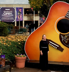 Maeve at Grand Ole Opry