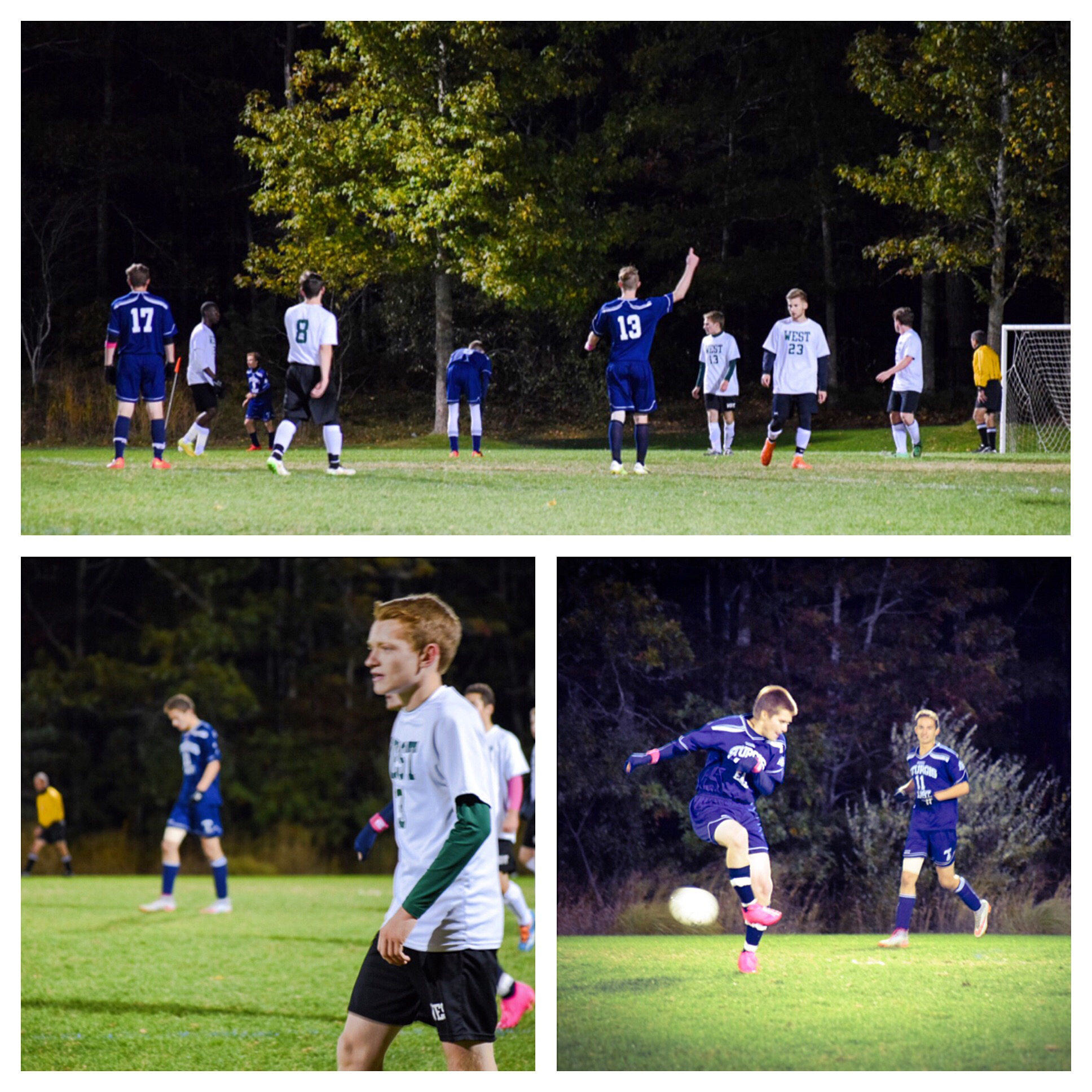 Boys Homecoming Soccer Game 2015