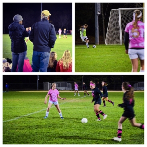 Girls Homecoming Soccer Game 2015