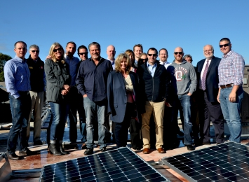 IGS Solar Staff Visit Sturgis Project October 15, 2015