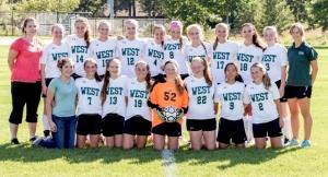 West Girls Varsity Soccer
