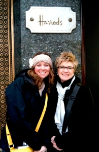 Anna Botsford and Marsha Yalden - London Theatre Trip 2011
