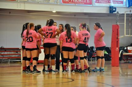 JV Volleyball - CA
