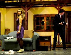 "Sara Prygocki in ""Noises Off"""