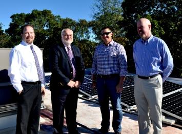 Sturgis Team with Hugh Scott, IGS Region Manager (l-r) Paul Marble, Eric Hieser, Hugh Scott and Jim Albrecht