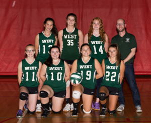 West JVA Volleyball