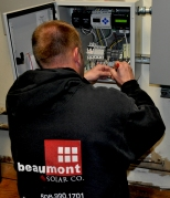 Beaumont hooking up solar