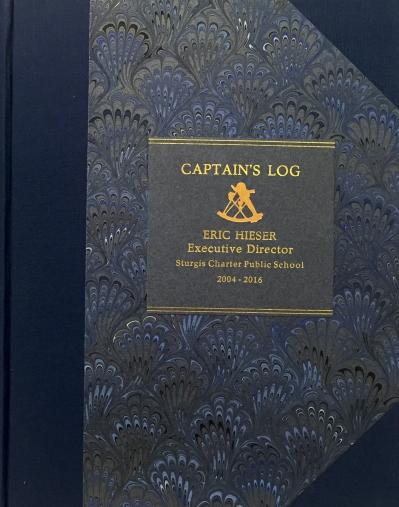 Captain's Log Cover