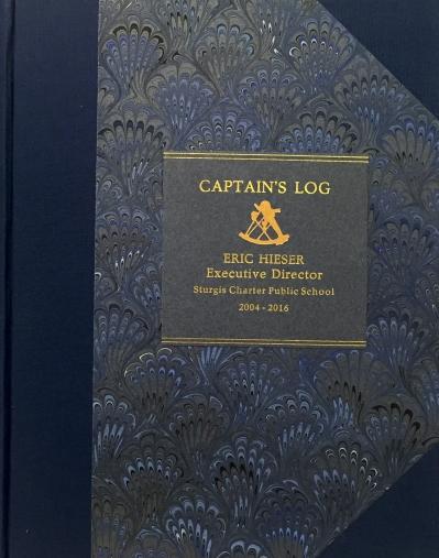 Captain's Log Cover