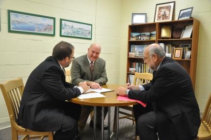 Eric Hieser, Paul Marble and Peter Steedman